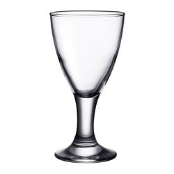 RÄTTVIK white wine glass, clear glass