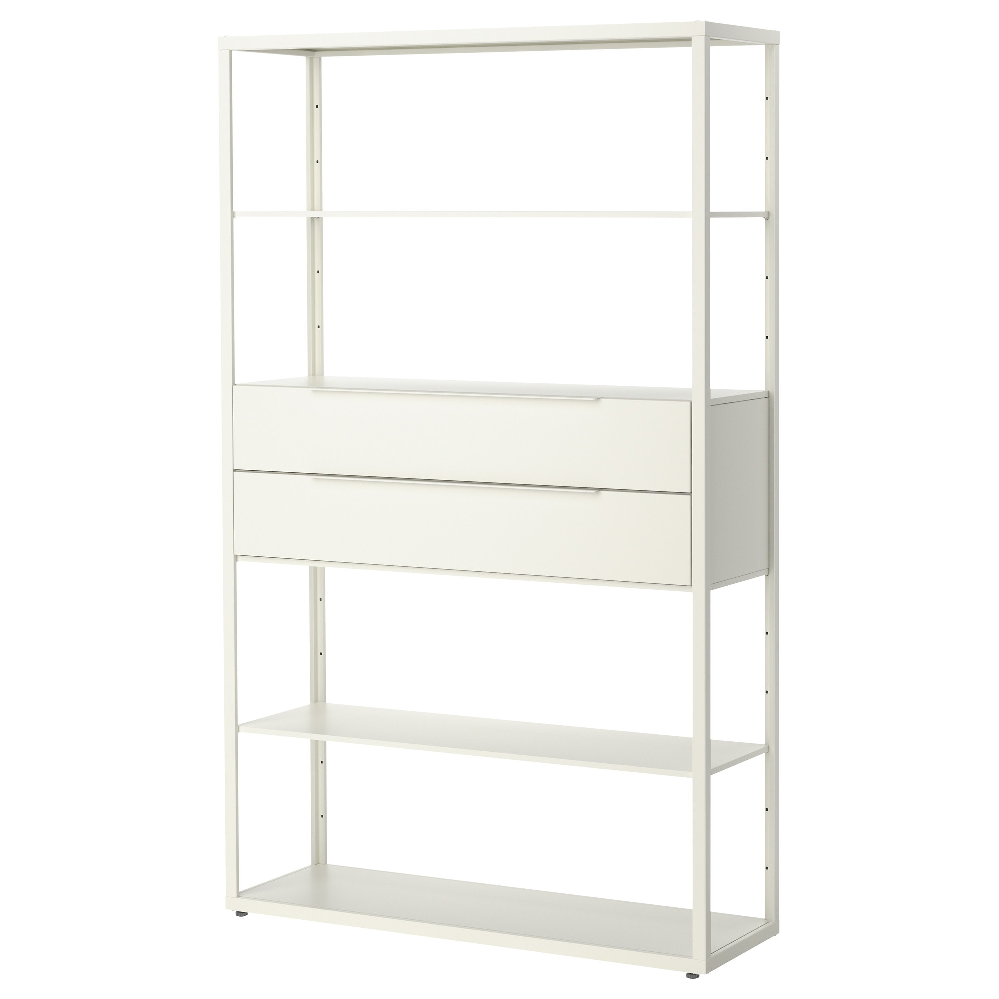 san francisco 7b832 2e3a8 Shelf unit with drawers FJÄLKINGE white