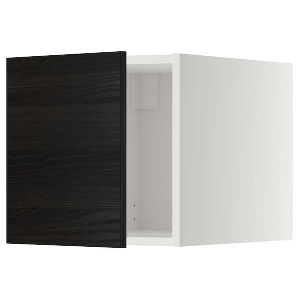 metod oberschrank wei tingsryd schwarz ikea. Black Bedroom Furniture Sets. Home Design Ideas