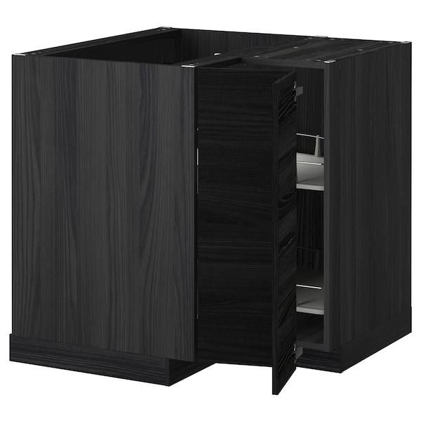 metod eckunterschrank karussell schwarz tingsryd schwarz ikea. Black Bedroom Furniture Sets. Home Design Ideas