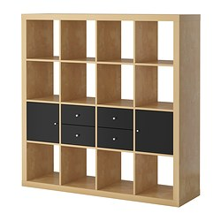 EXPEDIT storage combination w doors/drawers Width: 149 cm Height: 149 cm