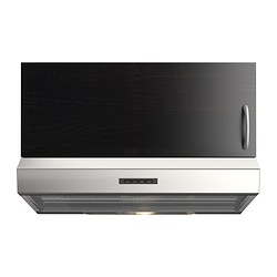 LAGAN wall mounted extractor hood, stainless steel Width: 59.8 cm Depth: 51.0 cm Height: 13.0 cm