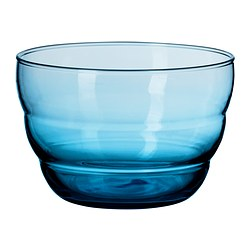 SKOJA serving bowl, blue Diameter: 12 cm Height: 8 cm