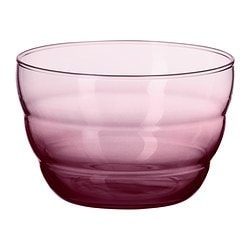 SKOJA serving bowl, lilac Diameter: 12 cm Height: 8 cm