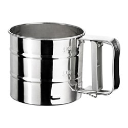 IDEALISK, Flour sifter, stainless steel