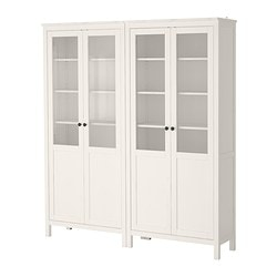 Charmant HEMNES Storage Combination W/glass Doors