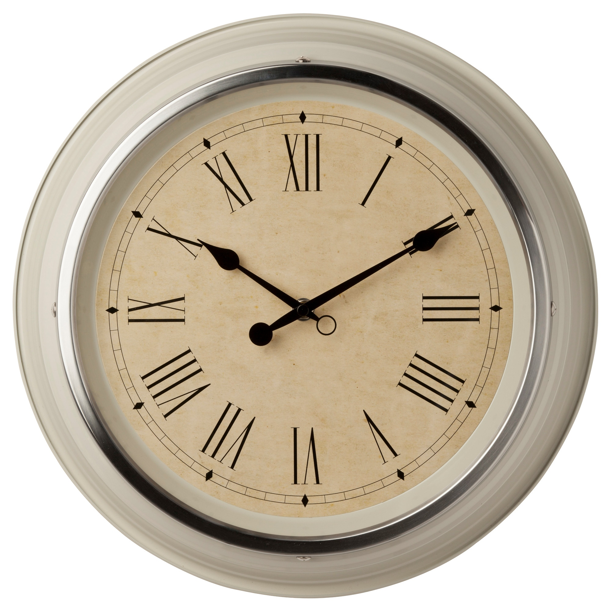 Wall clocks table clocks ikea skovel wall clock beige diameter 13 amipublicfo Image collections