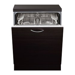 LAGAN integrated dishwasher A, white Width: 59.6 cm Depth: 55.5 cm Height: 81.8 cm