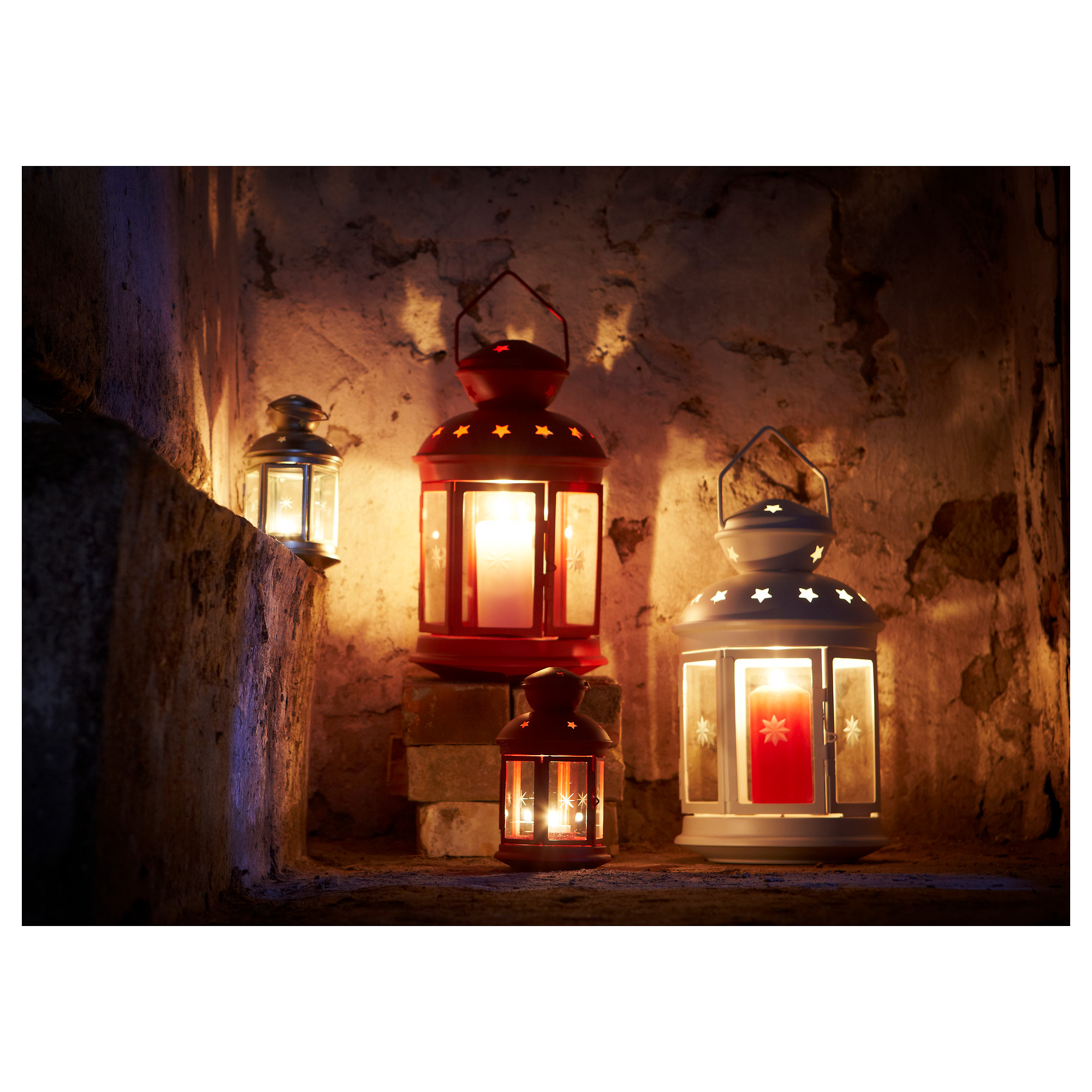 ROTERA Lantern For Block Candle   IKEA