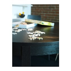 Bjursta Extendable Table Brown Black 45 1 4 65 3 8 Quot Ikea