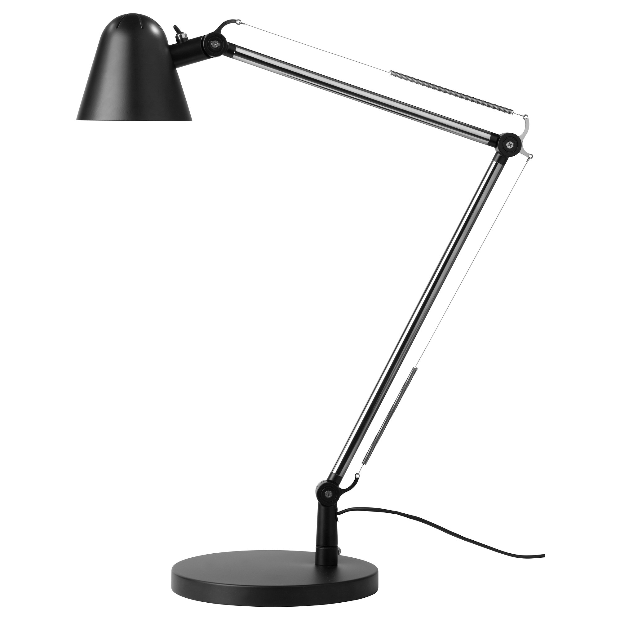 Ikea led desk lamp - Uppbo Work Lamp With Led Bulb Black Max 6 W Height 24