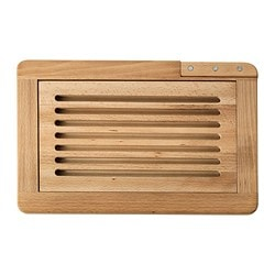 BEFRIANDE chopping board and knife, beech