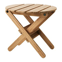 "VILDAPEL plant stand, bamboo Height: 11 ½ "" Diameter: 12 ½ "" Max. load: 88 lb Height: 29 cm Diameter: 32 cm Max. load: 40 kg"