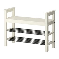 HEMNES Bench with shoe storage $59.99
