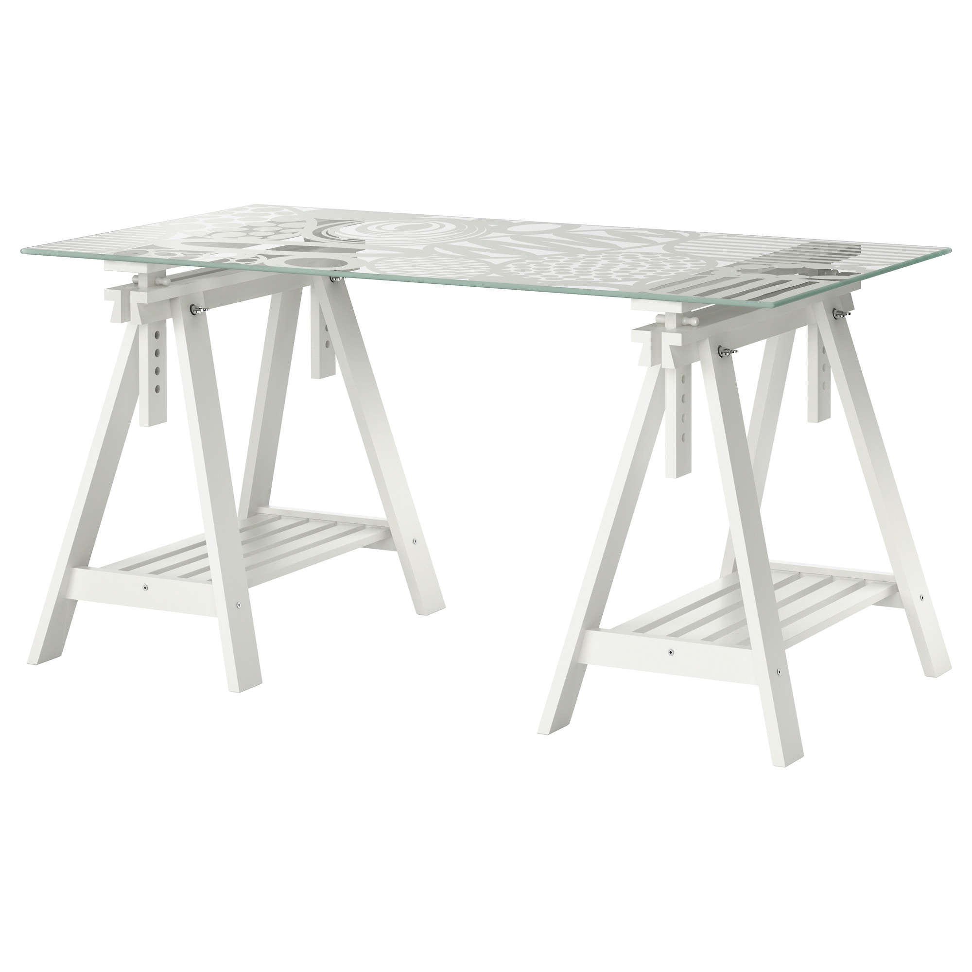 Ikea glass table desk - Ikea Glass Table Desk 8