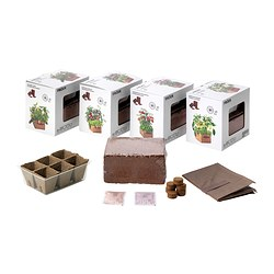 FRÖER growing set, assorted, vegetables