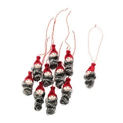 VINTER 2018 hanging decoration, Santa Claus