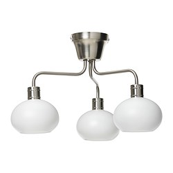 "ÄLGHULT ceiling lamp Width: 17 "" Height: 12 "" Base diameter: 4 3/4 "" Width: 42 cm Height: 31 cm Base diameter: 12 cm"
