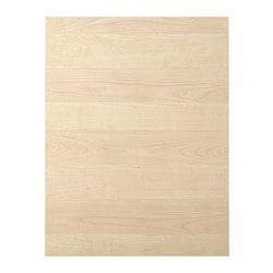HAGANÄS cover panel, birch veneer Width: 61.5 cm Height: 80.0 cm Thickness: 1.3 cm