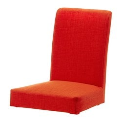 HENRIKSDAL chair cover, Skiftebo orange