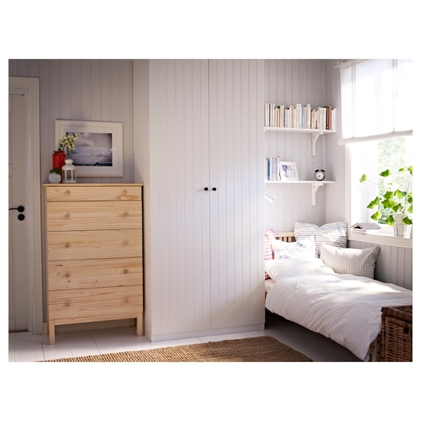 tarva kommode mit 5 schubladen kiefer ikea. Black Bedroom Furniture Sets. Home Design Ideas