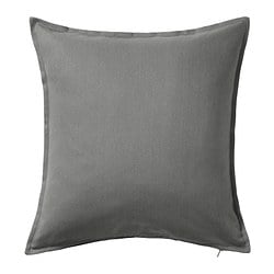 GURLI, Cushion cover, gray