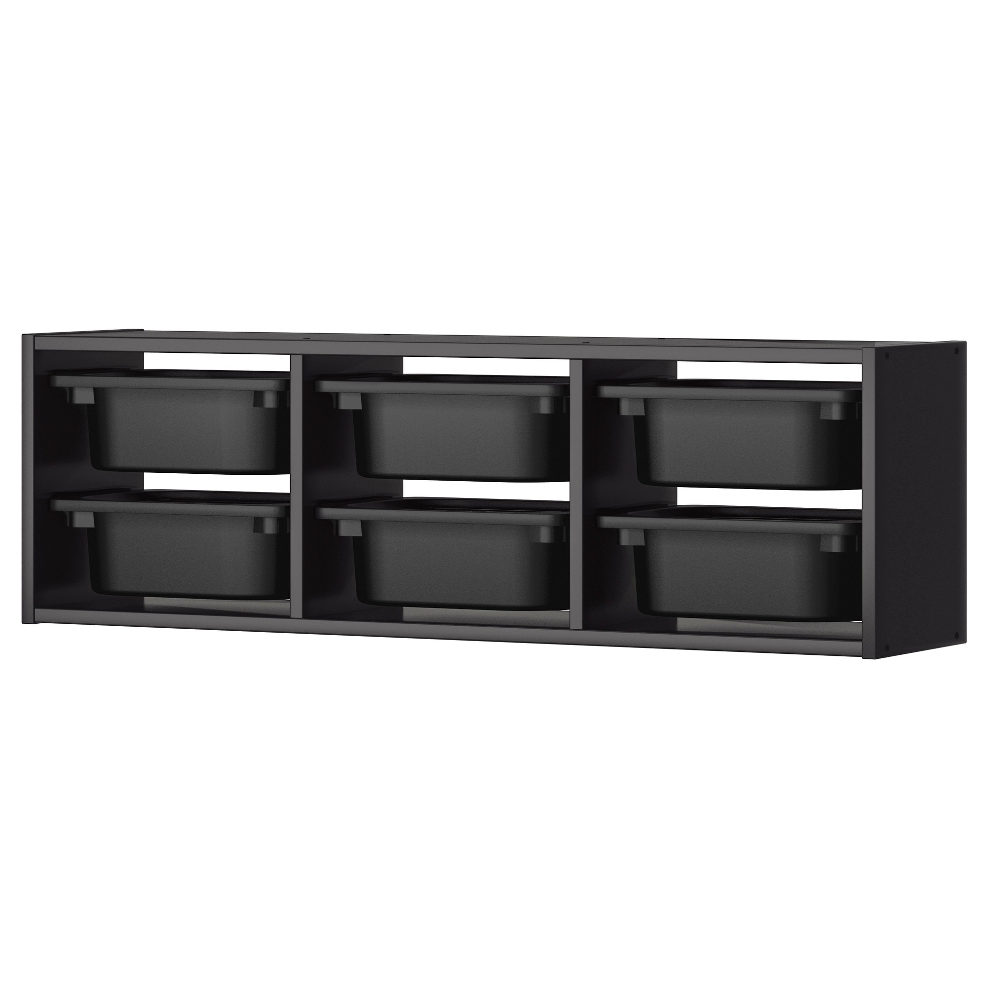 trofast wall storage black width 39 depth 8 14 nice wall hanging office organizer 4