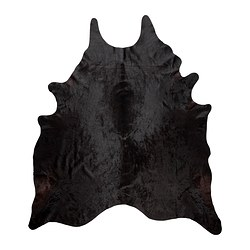 KOLDBY cowhide, black/white black Min. area: 32.29 sq feet Min. area: 3.00 m²