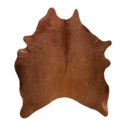 KOLDBY cow hide, brown