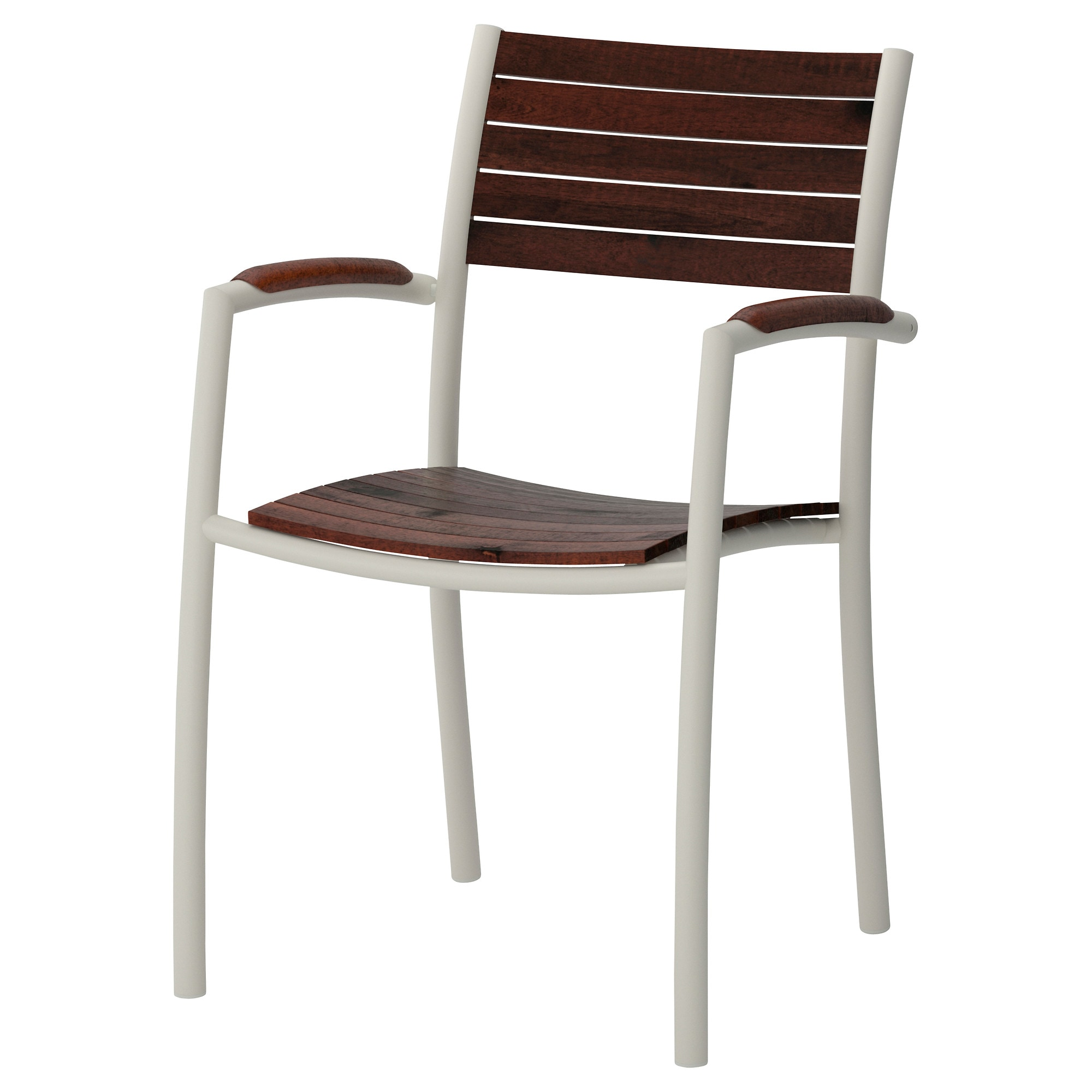 VINDALS– Chair with armrests outdoor IKEA