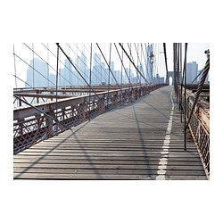PREMIÄR reproduction, Pont de Brooklyn Largeur: 200 cm Hauteur: 140 cm