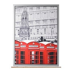 "VILSHULT picture, London Width: 30 ¼ "" Height: 22 ½ "" Width: 77 cm Height: 57 cm"