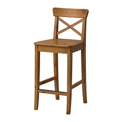 Superieur INGOLF Bar Stool With Backrest