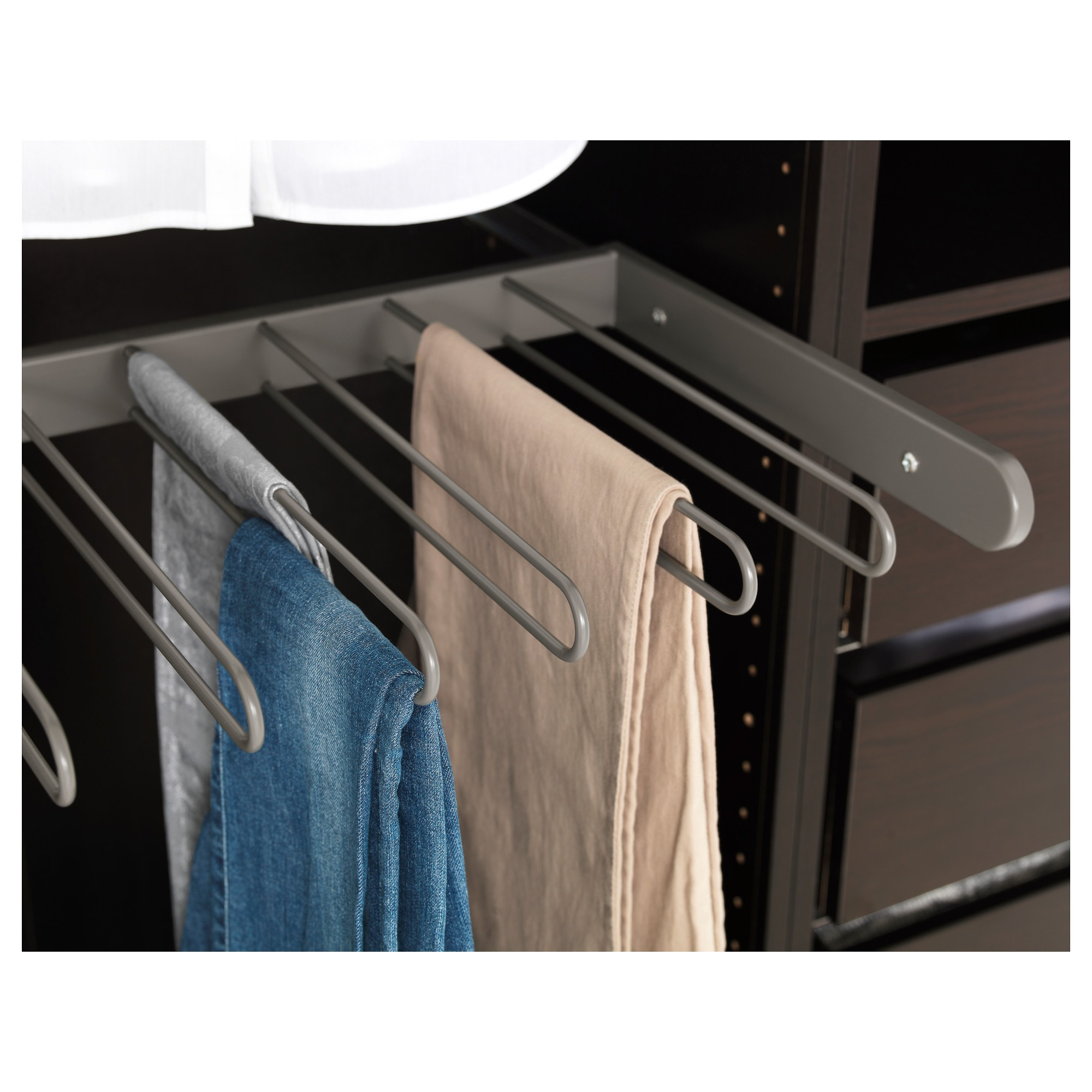 organized saving closets bedroom closet space organizing ideas swinging dreams too i became really appealing hangers might snob pants double hanger rack you how mbr saver with a and