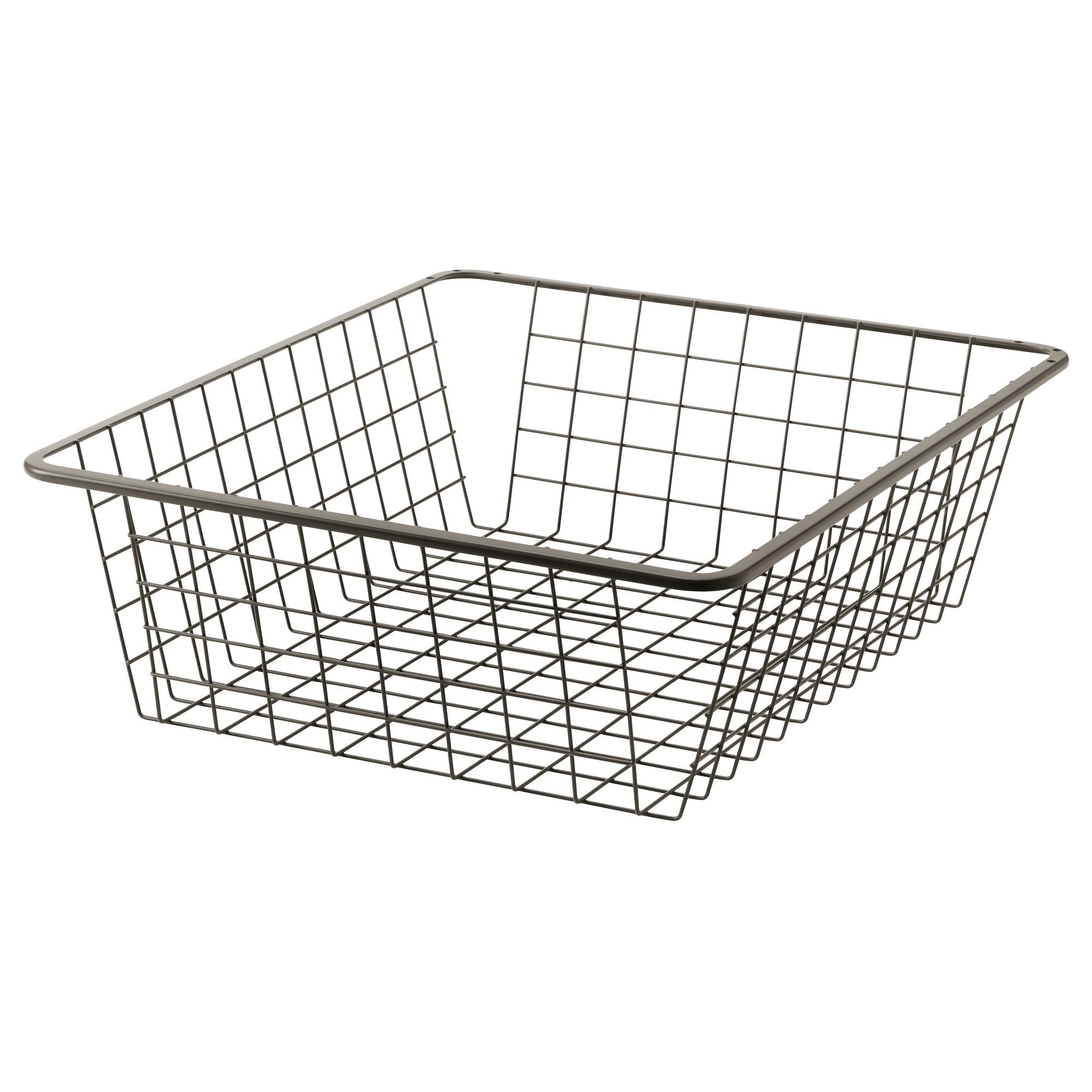 KOMPLEMENT Wire basket with pull-out rail - 75x58 cm - IKEA