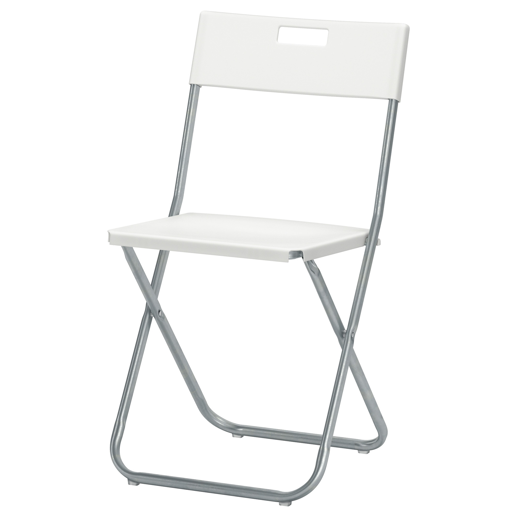 Black chair and white chair - Gunde Folding Chair White Tested For 220 Lb Width 16 1 8