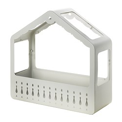 IKEA PS 2014 greenhouse, white, in/outdoor white Width: 46 cm Depth: 18 cm Height: 45 cm