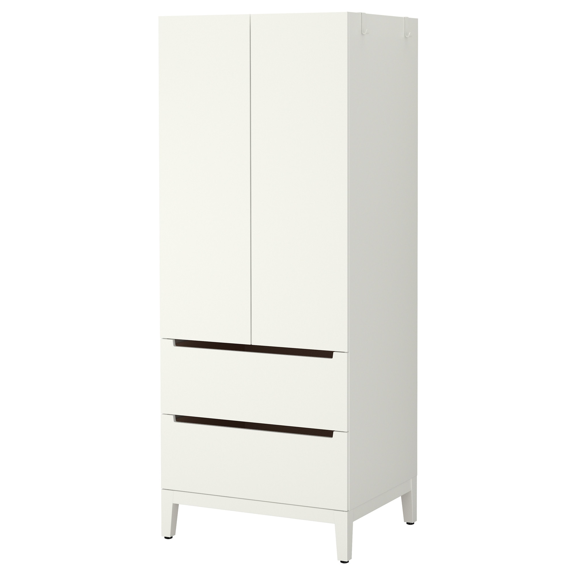Ikea bedroom furniture chest of drawers - Nordli Wardrobe White Width 28 3 8 Depth 22 3