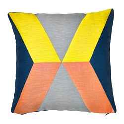 IKEA PS 2014 cushion cover, yellow, pink Length: 50 cm Width: 50 cm Filling weight: 60 g