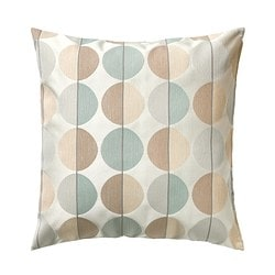 OTTIL cushion cover, beige, multicolor