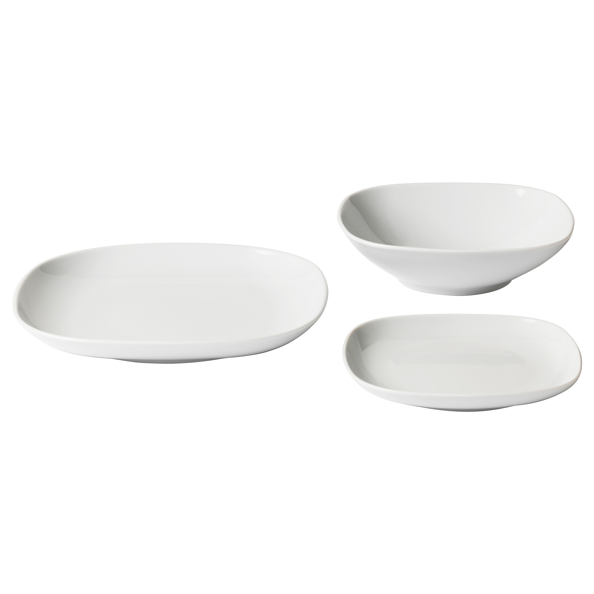 vrdera 18piece dinnerware set white - White Dinnerware Sets