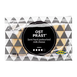 OST PRÄST® semi-hard cheese Net weight: 300 g