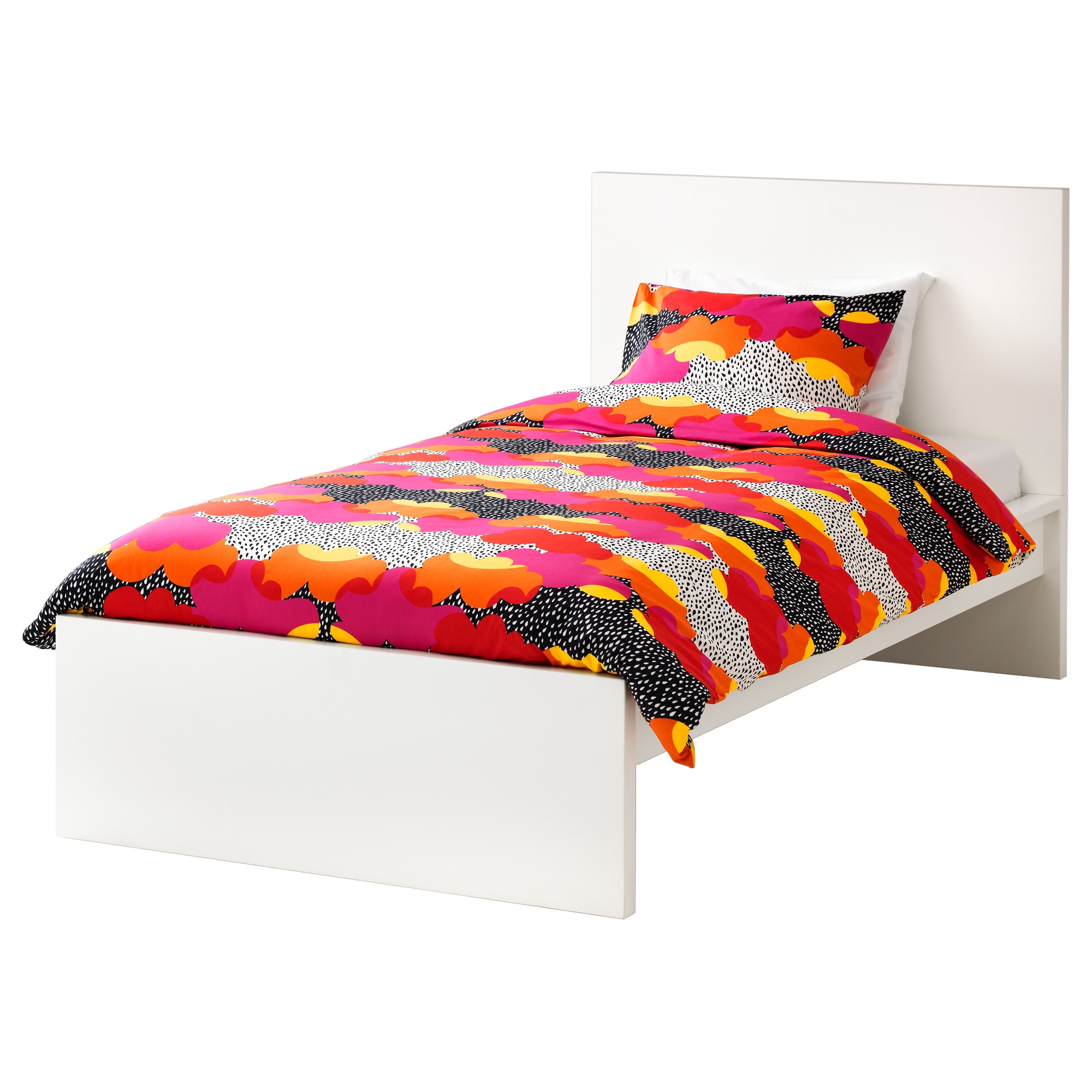 high twin bed frame CaNATbLn