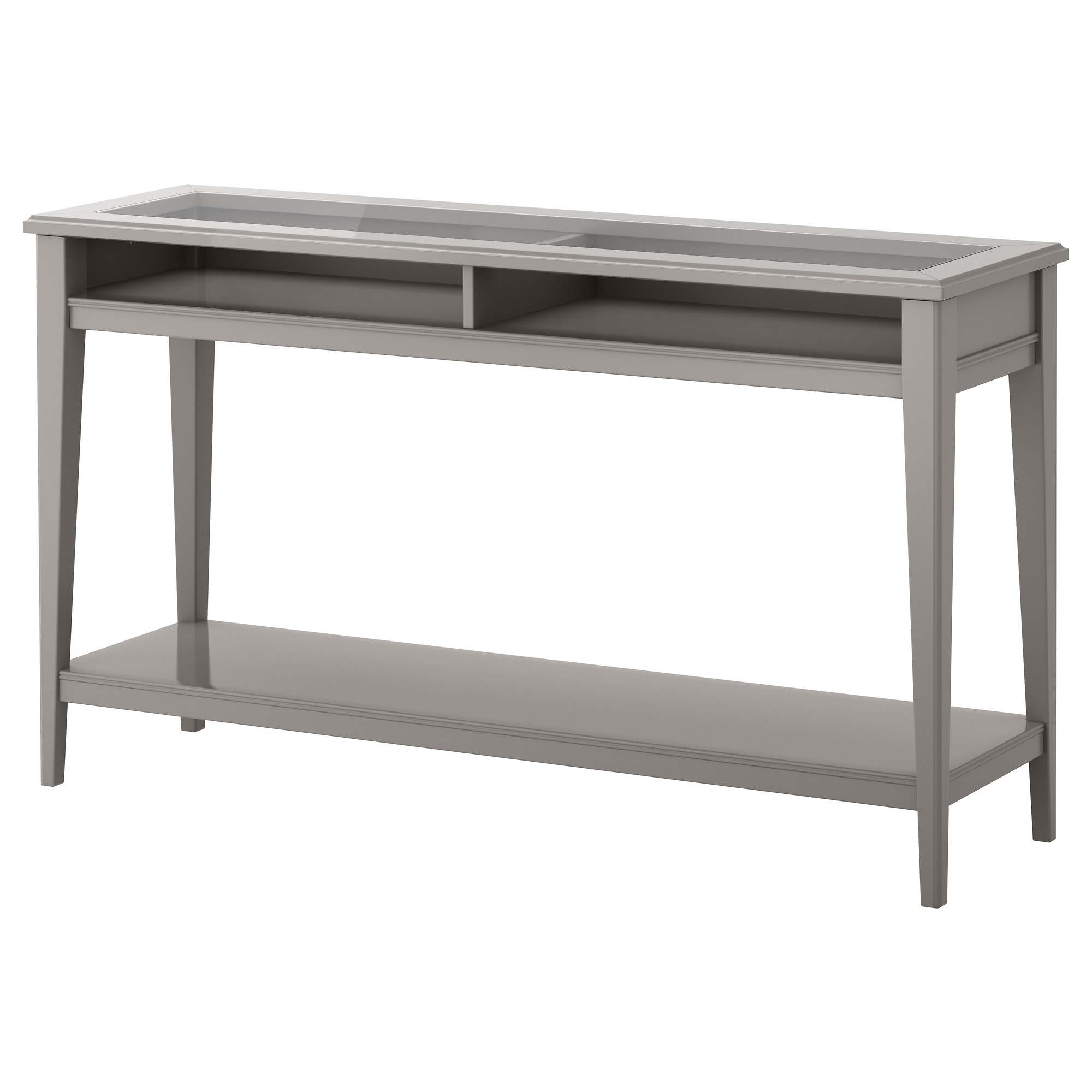 Bon LIATORP Console Table   Gray/glass   IKEA