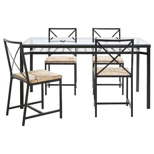 IKEA GRANÅS Table and 4 chairs