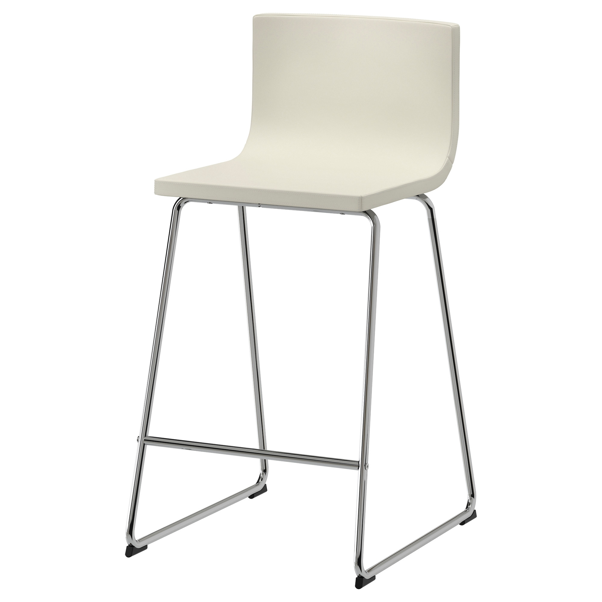Bar Stools For A Bar Part - 41: BERNHARD Bar Stool With Backrest - IKEA