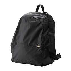 KNALLA backpack, black Length: 35 cm Depth: 20 cm Height: 45 cm