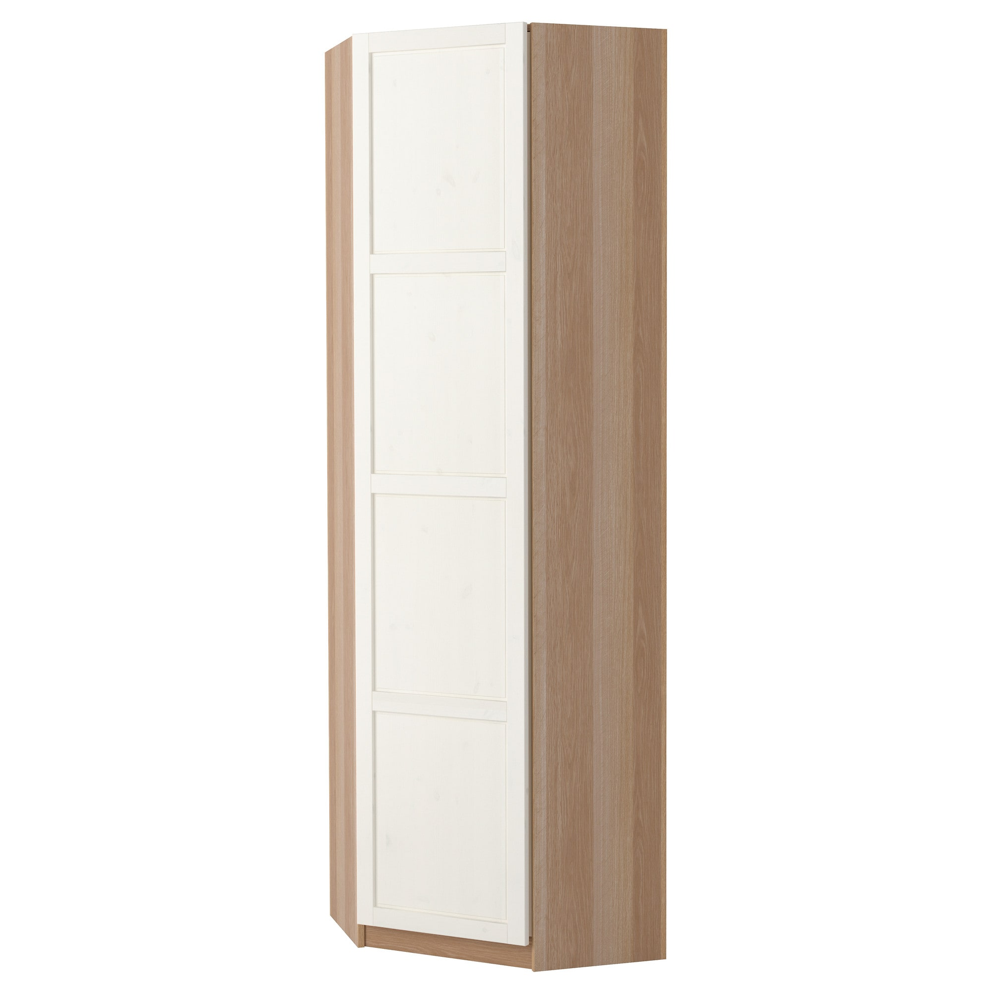 Pax wardrobe white tanem black 50x60x236 cm ikea meuble for Meuble 5 cases ikea