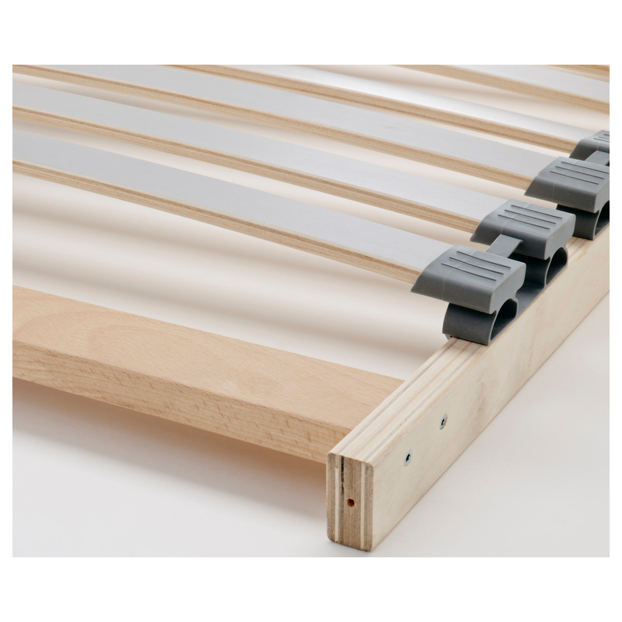lÖnset slatted bed base - queen - ikea