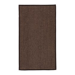 OSTED rug, flatwoven, brown